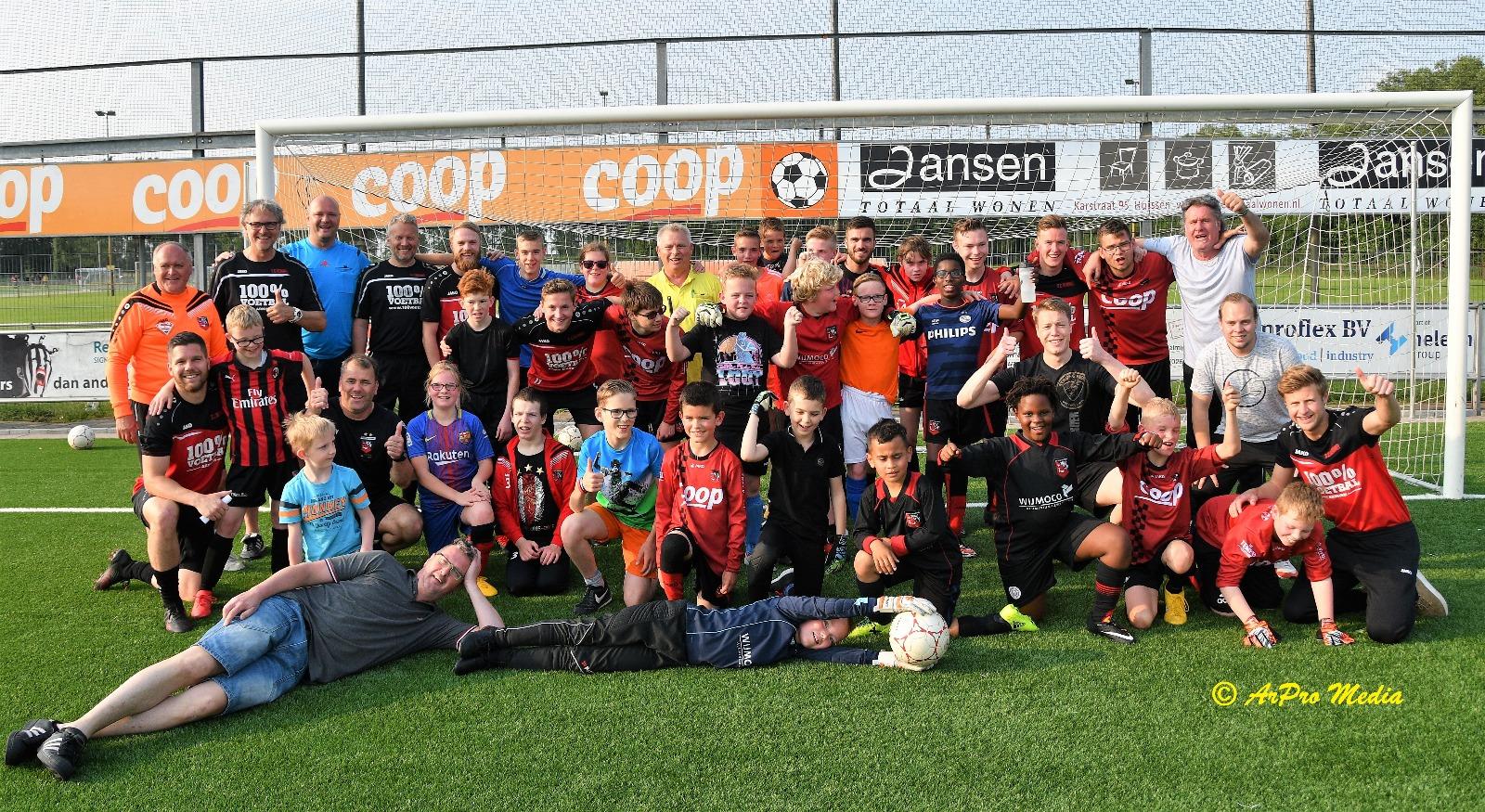 Toernooi Helden/Eerste elftal