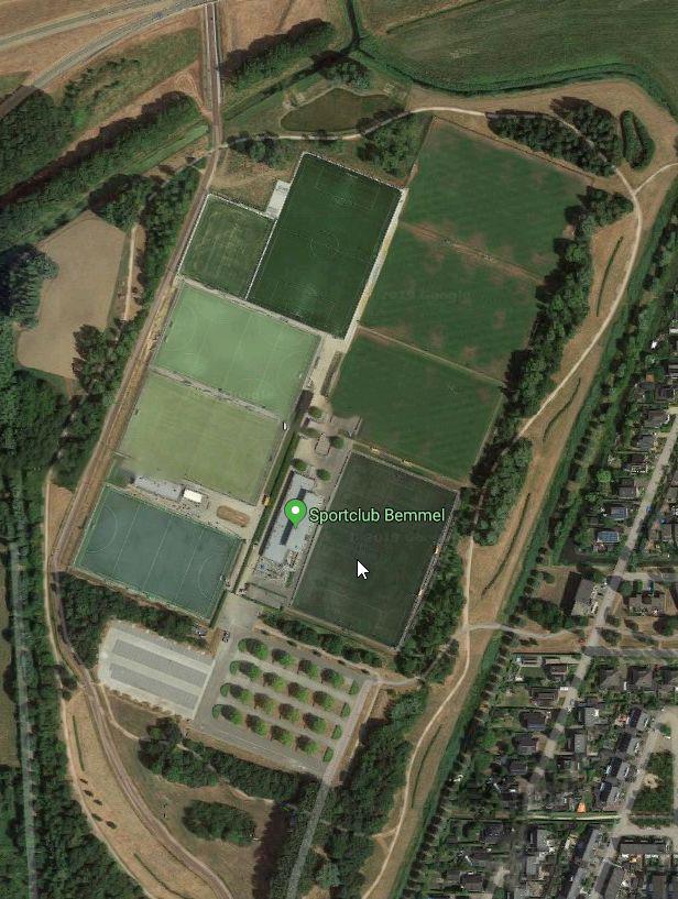 Sportpark Ressen (bron: Google Maps)