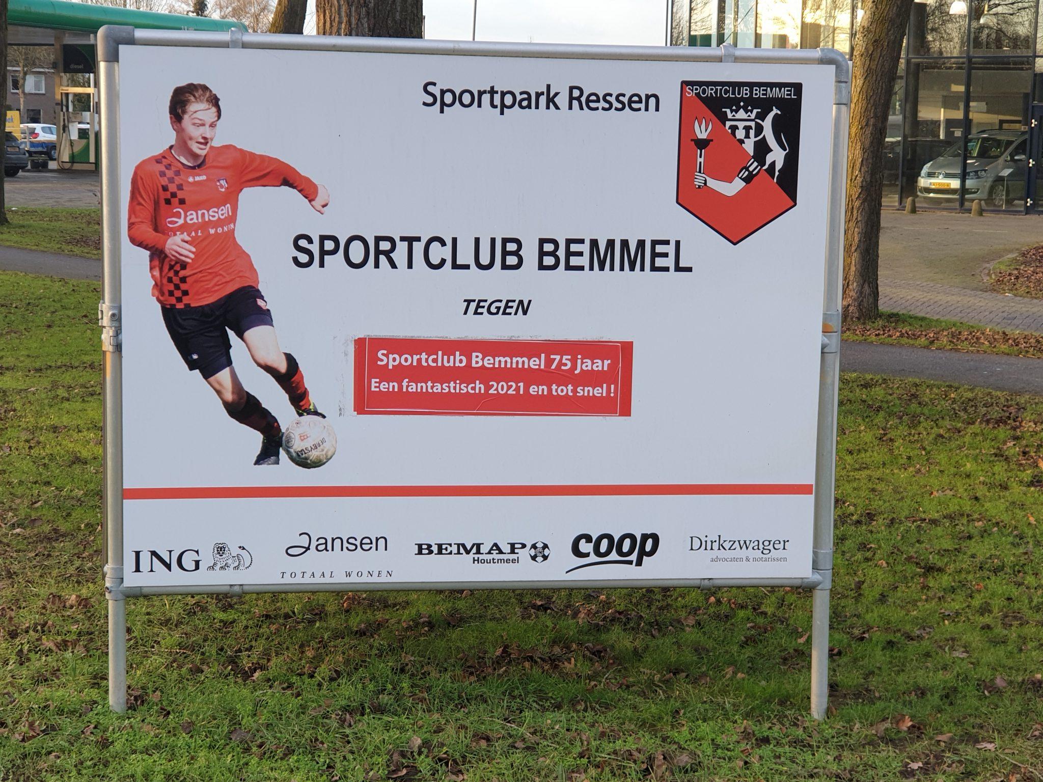 Sportclub Bemmel 75 jaar